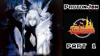 Castlevania Aria Of Sorrow Part 1 In Support Of IGAvania