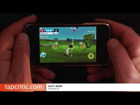 Let's Golf iPhone / iPod Contact Overview thumbnail