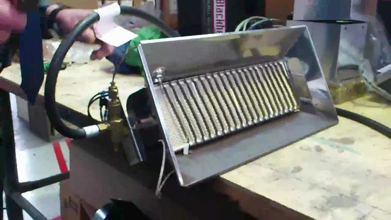 Cleaning Portable Infrared Gas Heater Youtube