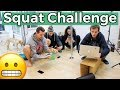 watch he video of Who can Squat the longest?