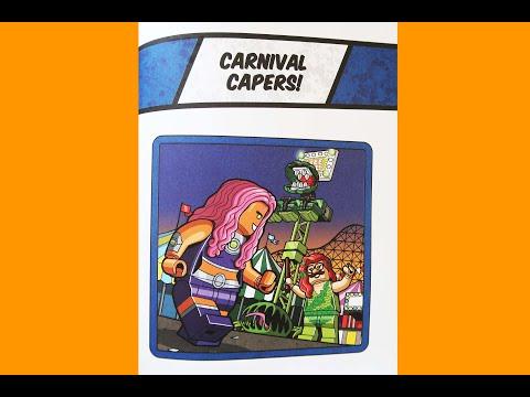 Lego DC Comics 5-Minute Super Heroes Stories Carnival Capers Storybook Read Aloud Batman Villians