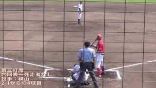 2015/8/2@丸亀市民球場 安部友裕選手今季2号ホームラン!