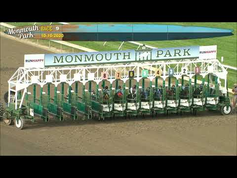video thumbnail for MONMOUTH PARK 10-10-20 RACE 9