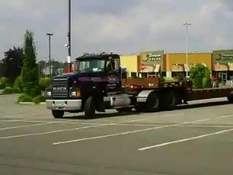 Mack Lowboy Truck
