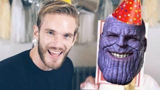 PewDiePie Congratulations Thanos Diss Track Avengers Endgame