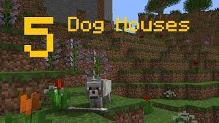 ✔ Minecraft: 5 DOG HOUSE DESIGNS(, 2016-05-29T22:13:50.000Z)