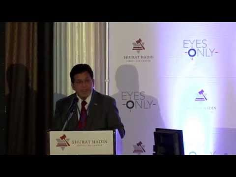 Shurat HaDin's Eyes Only 2016 - Keynote Speaker – Alberto R. Gonzales