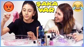 Gambar cover Slime Şakası Kağıttan Ne Çıkarsa Slaym Challenge Çöplük Slime Dila Kent