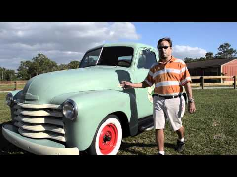 1952 Cheverolet 3100 1/2 ton PIckup SOLD