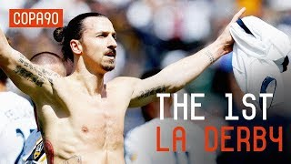 Zlatan Smashes First LA Derby | LA Galaxy vs LAFC