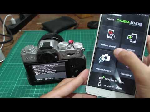 Cara menghubungkan kamera fujifilm dengan handphone via wifi