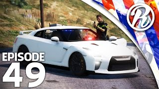 [GTA5] POLITIE PATROL MET DE NISSAN GTR!! - Royalistiq | Nederlandse Politie #49 (LSPDFR 0.31)