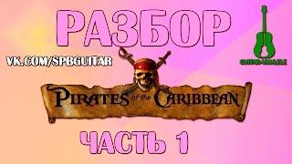 Разбор Пиратов Карибского моря на укулеле. Часть 1