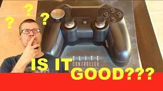 """IS IT GOOD?"" Emio Elite PS4 controller Review"