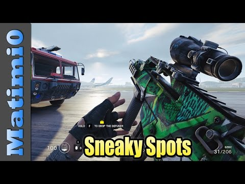 Sneaky Spots - Did You Know - Rainbow Six Siege