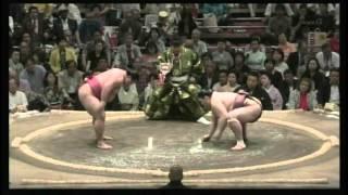 嘉風 × 常幸龍 2015/5/14 大相撲夏場所 5日目 ハイライト.