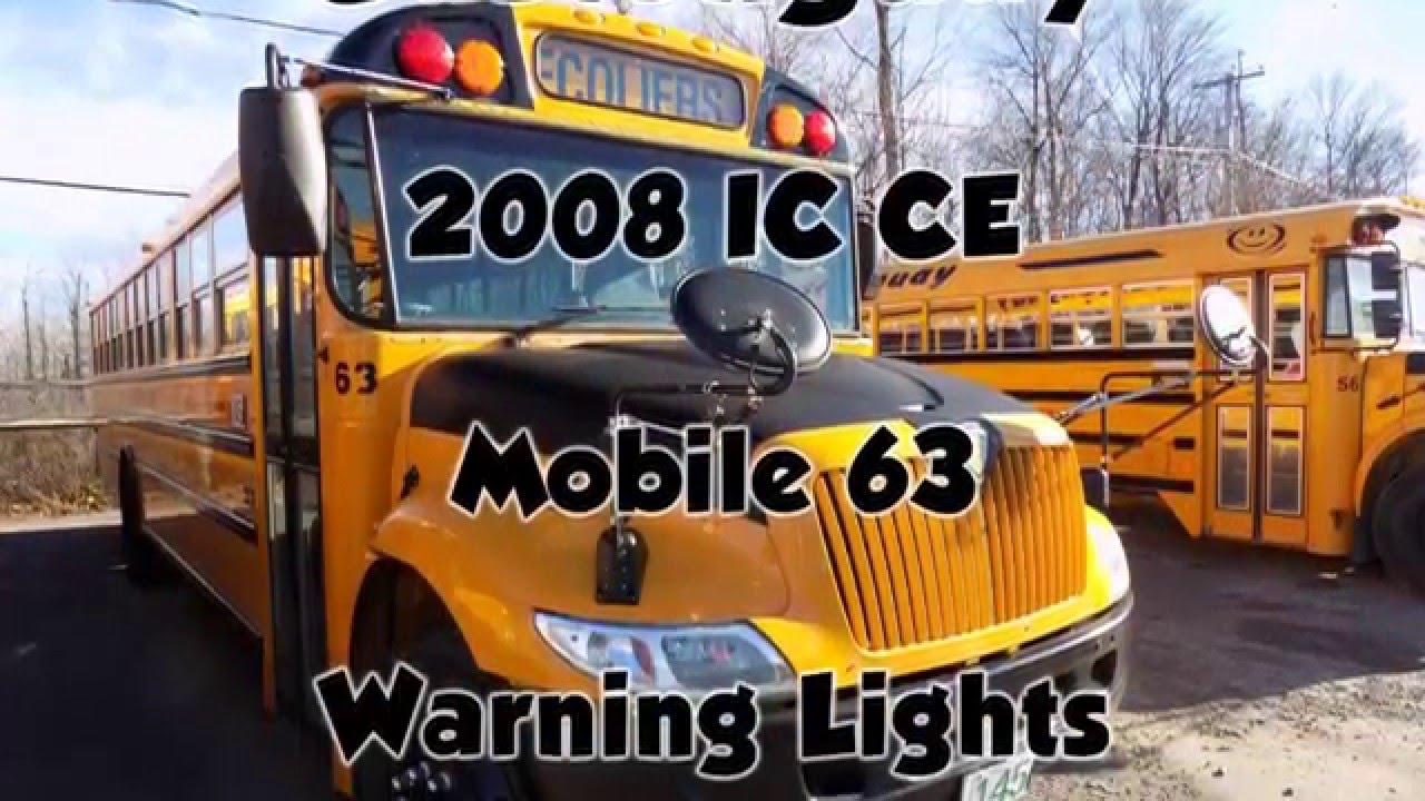 2008 ic ce warning lights youtube