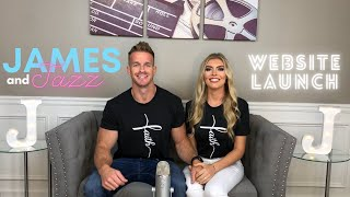 James and Jazz Website Launch || Christian Couple || Relationship Advice | Faith | Jesus | Workouts