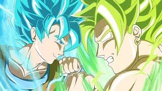 DBZ shin budokai another road:Goku SSJ4 vs LSSJ BROLY
