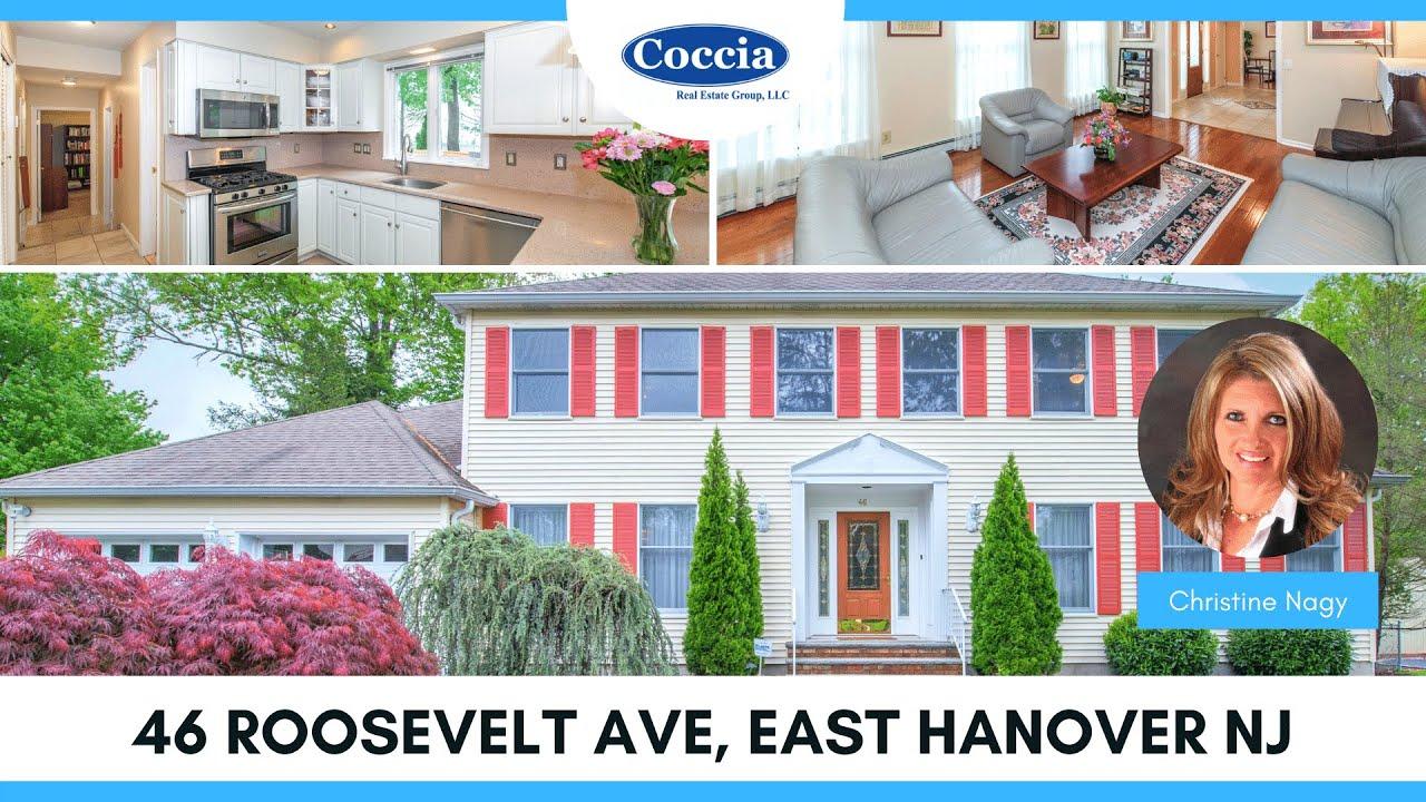 46 Roosevelt Ave | Homes for Sale East Hanover NJ | Morris County