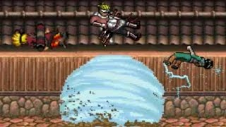neji hyuga vs rock lee naruto sage mode and killer bee   bleach vs naruto 2 6   bvn battles