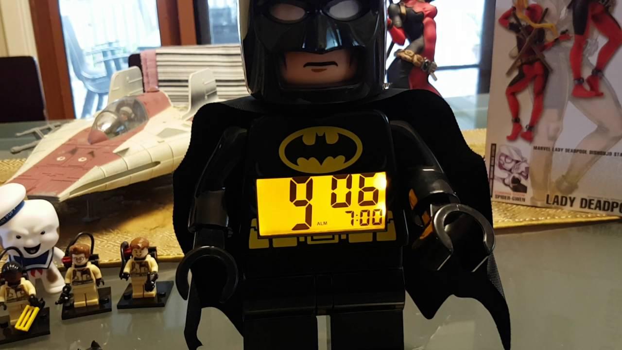 Lego Batman Alarm Clock Youtube