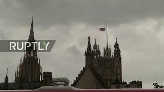 LIVE  Minute of silence in memory of London attack victims