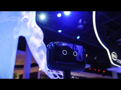 First look at Segway's robot butler of the future — CES 2016