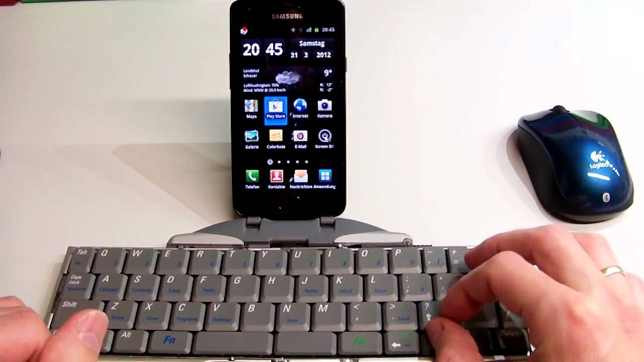 connect mouse and keyboard to your smartphone smartphone tips and tricks youtube. Black Bedroom Furniture Sets. Home Design Ideas