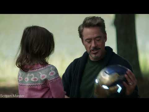 Morgan Stark With Rescue Helmet | Avengers: Endgame [Open Matte/IMAX HD]