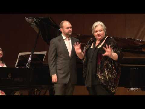 Matthew Swensen, tenor & Katelan Terrell, piano | Juilliard Stephanie Blythe Master Class