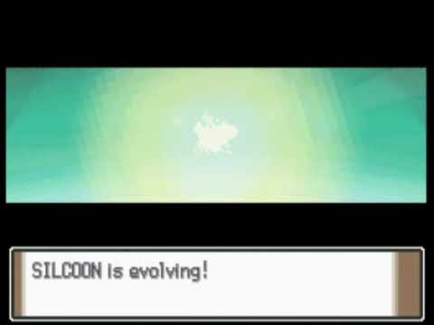 My Silcoon Evolves Into Beautifly In Pokemon Platinum