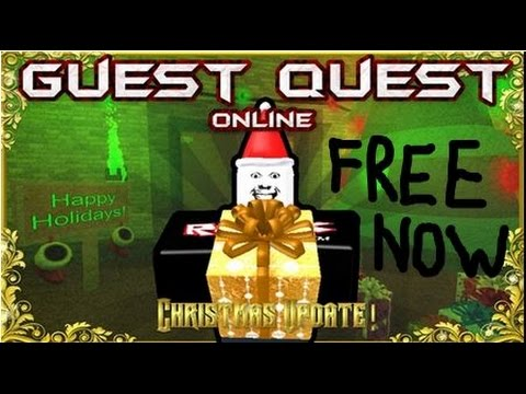 Roblox Guest Quest Online Christmas Update Free To Play