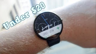 Top 7 Cheapest Chinese Smartwatches Under $20 You Can Buy in 2017 / 2018
