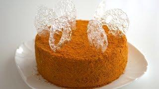 простой рецепт классического медового торта/медовика