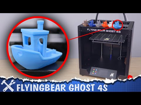 📦3D принтер FlyingBear GHOST 4S. Epic Win?!