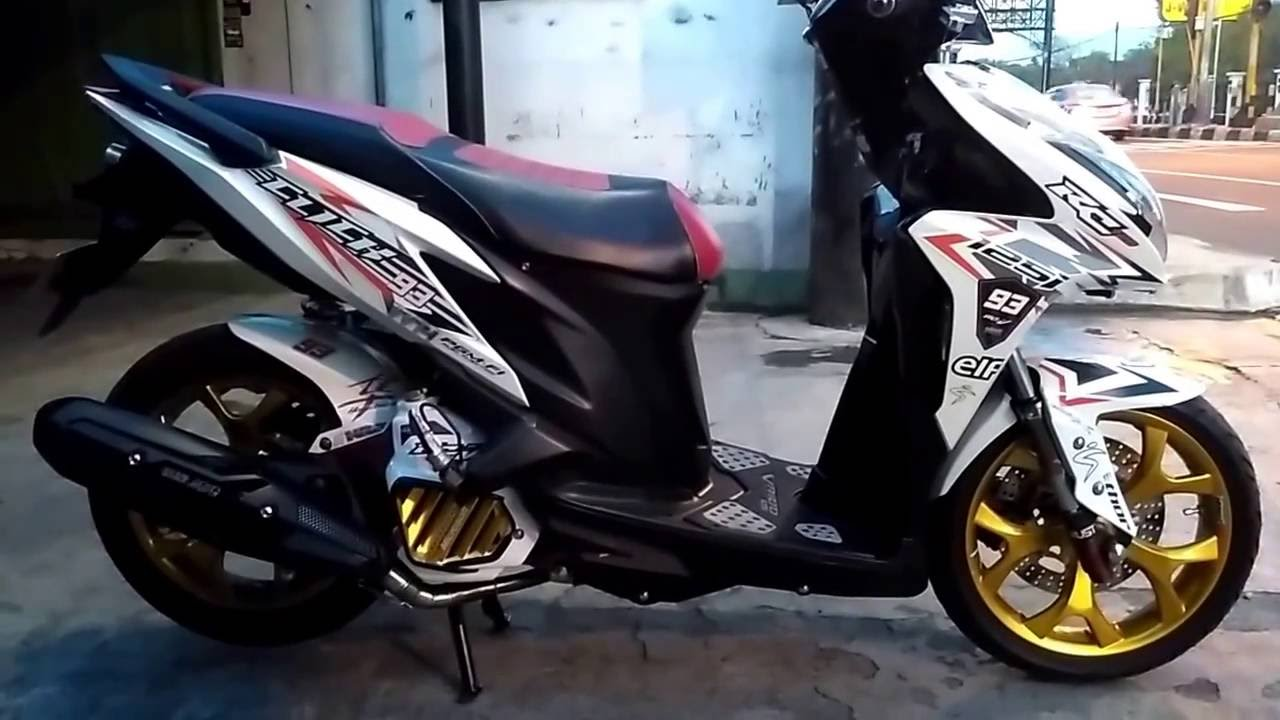 modifikasi vario 125 fi - youtube