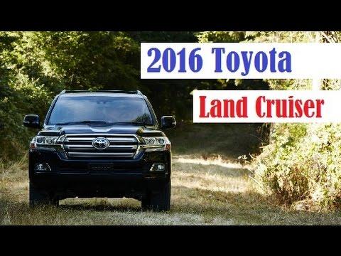 2016 Toyota Land Cruiser Us Specs Revealed More Details