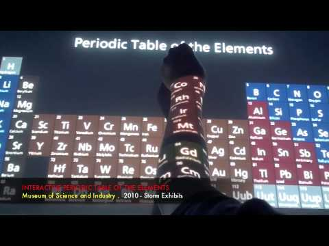 Periodic table at chicagos museum of science and industry youtube urtaz Choice Image