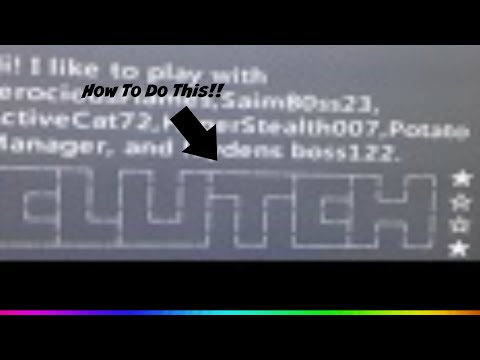How To Do Clutch Art In Your Bio on Xbox 360!!
