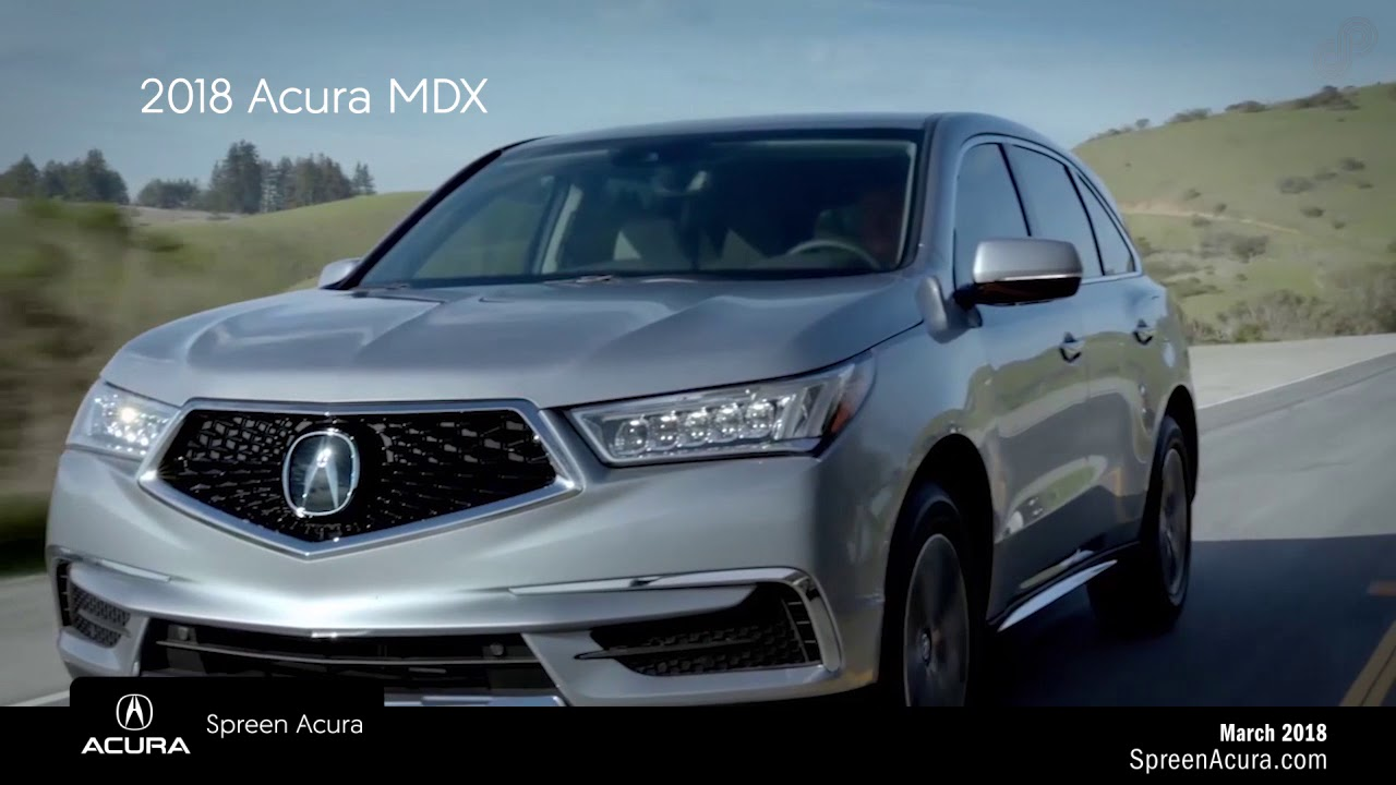 Acura Mdx Lease >> Spreen Acura Mdx Lease Special