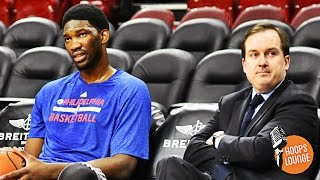 Sam hinkie, the process, and joel embiid #hoopslounge