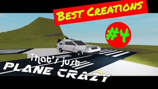 Roblox Plane Crazy Best Creations #4