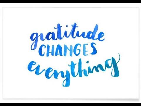 Freedom the Choose Gratitude: Meditation