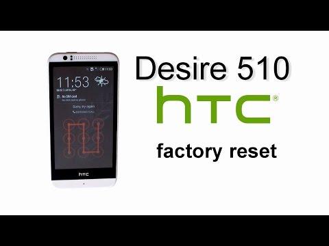 HTC Desire 510 - Hard Reset , Factory Master Reset