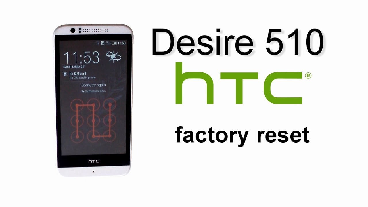 htc hard reset a3333
