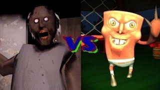 Granny vs Evil SpongeBob