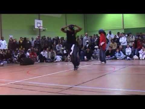 Juste Debout 2003 - Hip hop final - Yugson & Dedson vs Joseph Go & Meech