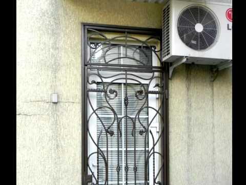 Красивая кованая дверь решетчатая, металлическая дверь из решетки ,ковка художественная