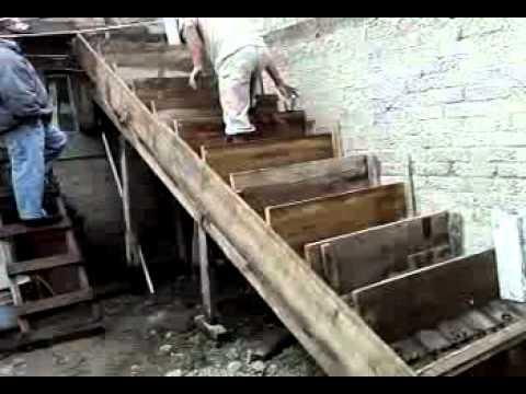proceso constructivo de una escalera en concreto doovi